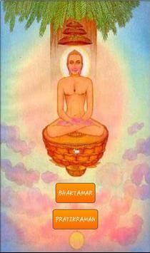 Jain Bhaktamar and Pratikraman poster