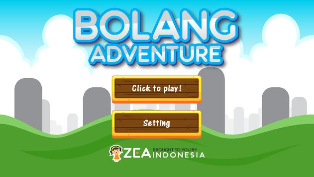 Bolang Adventure poster