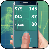 Finger Blood Pressure Checking icon