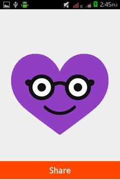 Heart Smiley Stickers apk screenshot