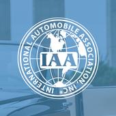IAA. International driver's license icon