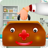 Kids Doctor Game - free app icon