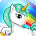 Kids puzzle for preschool fun - Unicorn 🦄