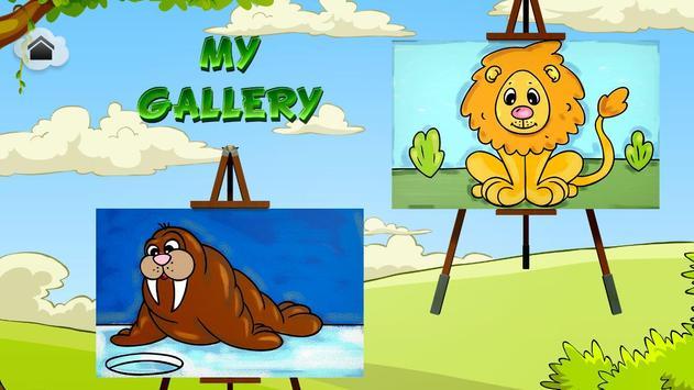 Animals Coloring Book For Kids Apk Screenshot