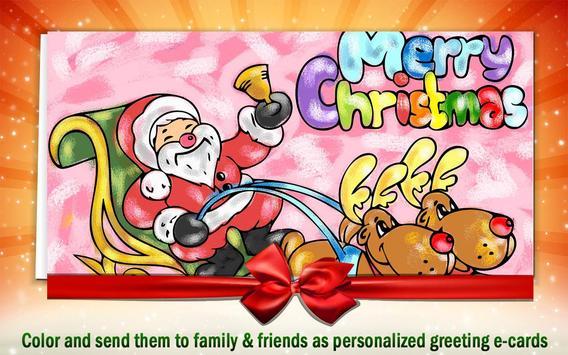 Christmas Coloring Book 4 Kids apk screenshot
