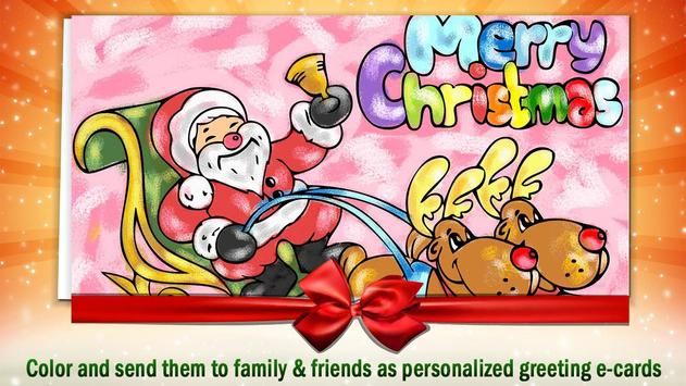 Christmas Coloring Book 4 Kids poster