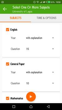 Post UTME CBT App (Past Questions and Answers) screenshot 5