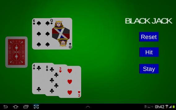 BlackJack 21 FREE apk screenshot