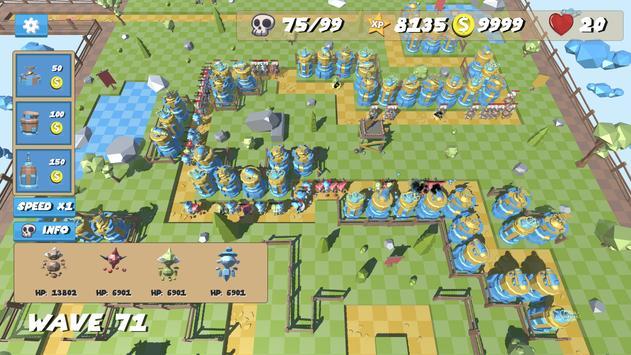 Poly Defense screenshot 1