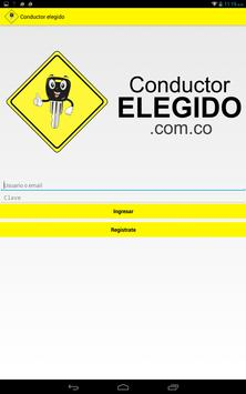 Conductor elegido screenshot 5