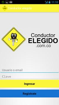 Conductor elegido screenshot 1