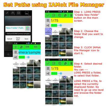 Manage Click Photo apk screenshot
