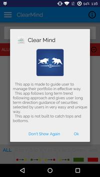 ClearMind apk screenshot