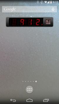 Predator Clock Widget apk screenshot