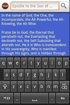 Bahai: Epistle to the Son apk screenshot