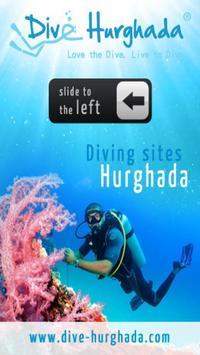 Dive sites Hurghada poster