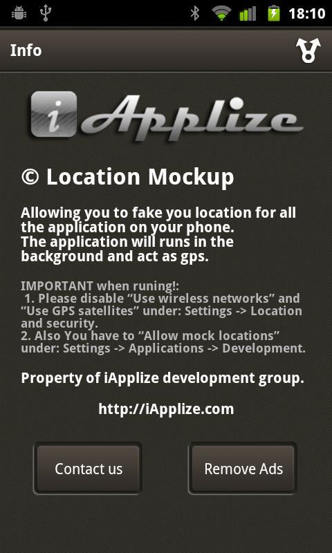 Location Mockup - Fake & Share for Android - APK Download