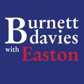 Burnett Davies with Easton icon