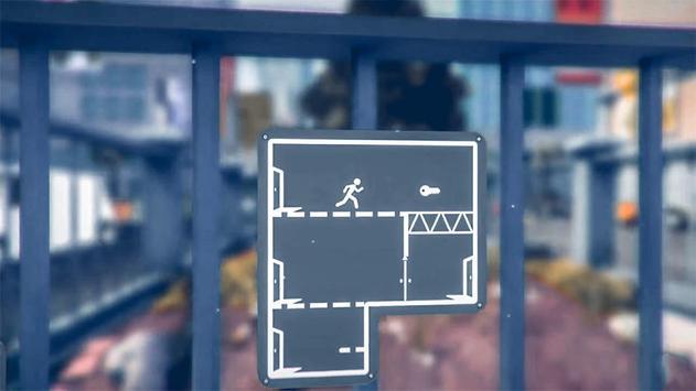Pedestrian Simulator poster