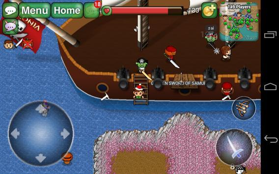 Avalonia Online MMORPG apk screenshot