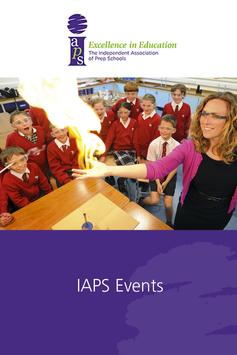 IAPS Events poster