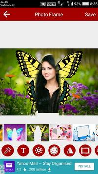 Butterfly Photo Editor poster