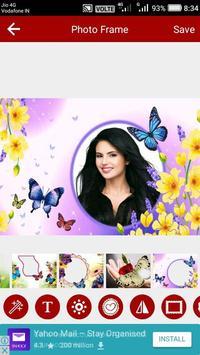 Butterfly Photo Editor screenshot 14