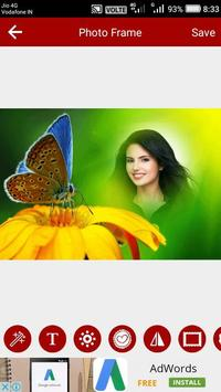 Butterfly Photo Editor screenshot 1