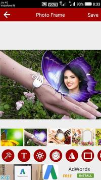 Butterfly Photo Editor screenshot 2