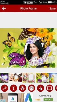 Butterfly Photo Editor screenshot 5