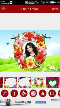 Flower Photo Editor poster