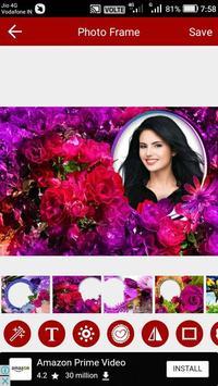 Flower Photo Editor screenshot 14