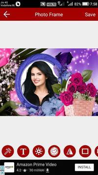 Flower Photo Editor screenshot 1