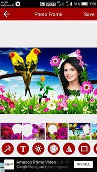 Flower Photo Editor screenshot 3