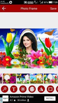 Flower Photo Editor screenshot 4