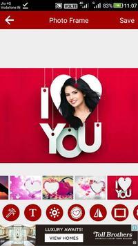 Heart Photo Editor screenshot 9