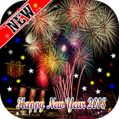 Happy New Year live wallpaper 2018 - 2018 Gift icon
