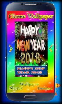 Happy New Year live wallpaper 2018 - 2018 Gift apk screenshot
