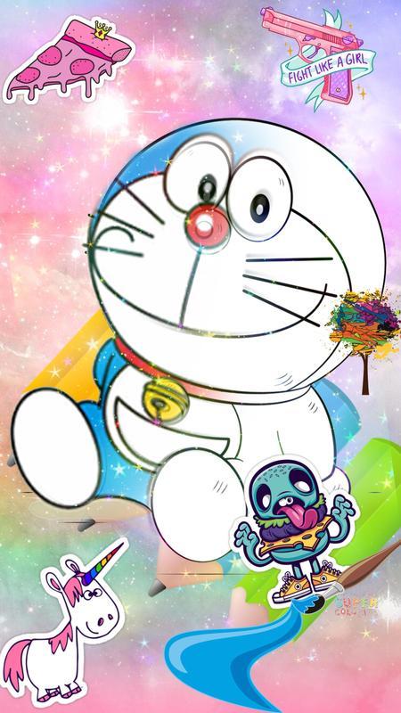 Doraemon Coloring Book Poster Screenshot 1