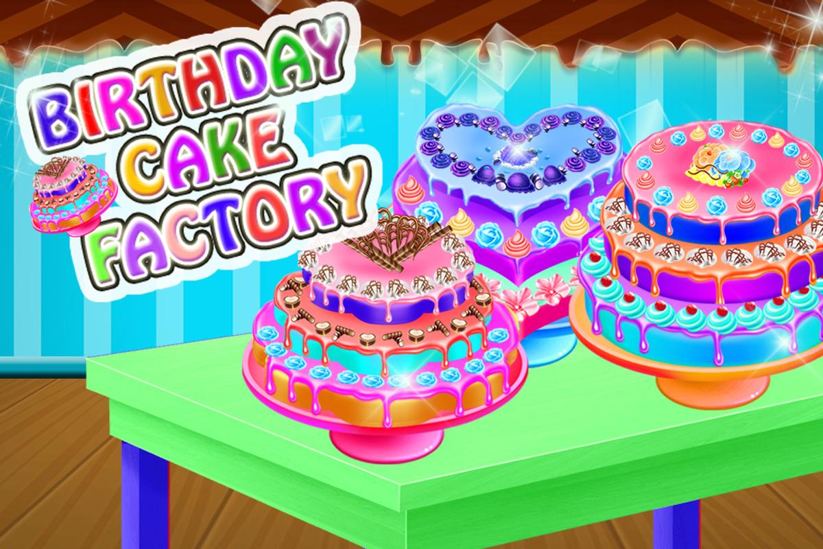 Cake Making Birthday Party Factory Games Screenshot 6