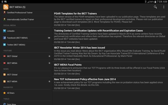 IBCT App apk screenshot