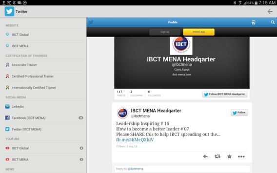 IBCT App screenshot 8