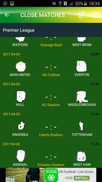 The Soccer- Livescores apk screenshot