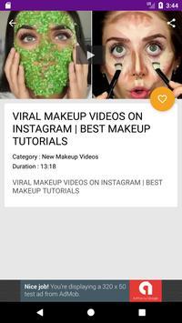 Face And Eye Makeup Videos screenshot 2