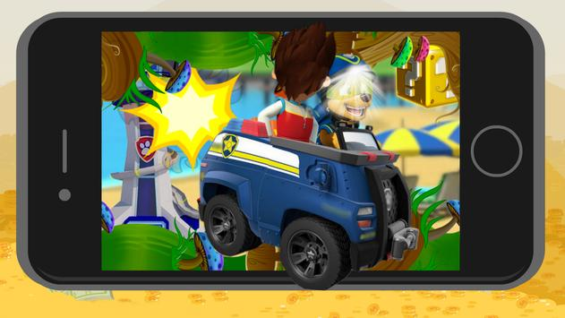 Paw Puppy Racing with Patrol Moto poster