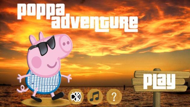 Poppa b Adventure poster