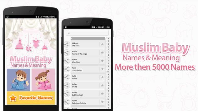 Muslim Baby Names Cartaz