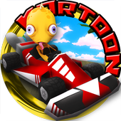 Kartoon Racing Driver simulator icon