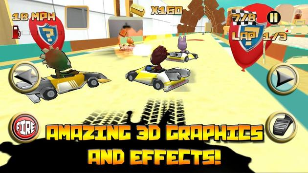 Kartoon Racing Driver simulator apk screenshot