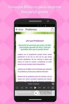 Consejos Biblicos para Mujeres Cristianas Predicas apk screenshot